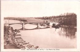 CPA - Ris-Orangis - Le Pont De Seine - Unclassified