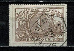 Belg. 1882/94  TR 13 Obl./gest. Saventhem 6  1893 (2 Scans) - Used