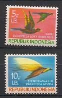 Indonesia - 1970 - N°Yv. 41 à 42 - Oiseaux / Birds - Neuf Luxe ** / MNH / Postfrisch - Non Classificati