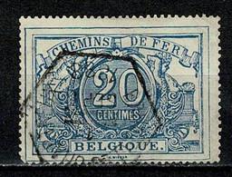 Belg. 1882/94  TR 9 Obl./gest. - Used