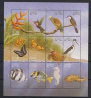 Zambia - 1999 - N° Yv. 944 à 955 - Faune / Animals - Neuf Luxe ** / MNH / Postfrisch - Zambia (1965-...)