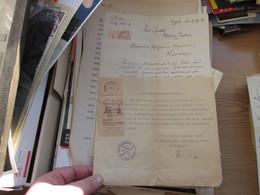Bescheinigung  Moers Traveled 1936 - 1900 – 1949
