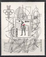 Poland, 1976 (#2455b), Volleyball, Olympic Games Montréal Canada - Souvenir Sheet - Summer 1976: Montreal