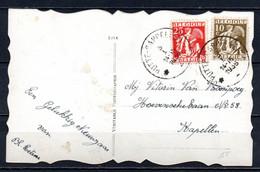 337 + 339 Op Fantasiekaart Gestempeld (sterstempel) PUTTE CAPPELLEN - 1932 Cérès Et Mercure