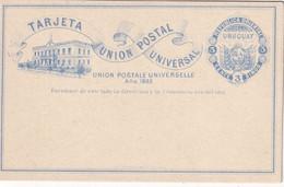 URUGUAY  ENTIER POSTAL/GANZSACHE/POSTAL STATIONARY CARTE - Uruguay