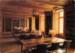 Abbaye Notre Dame Du BEC HELLOUIN Bibliotheque Salle De Lecture 17(scan Recto-verso) MA977 - Autres Communes