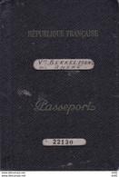FRANCE PASSEPORT - Unclassified