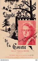 LA CHOUETTE FRANCINE BRUCK (DEDICACE) - Partituras