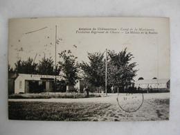 MILITARIA - Aviation De CHATEAUROUX - Camp De La Martinerie - 3ème Régiment De Chasse - La Météo Et La Radio - Casernas