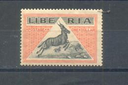 Liberia 1920  MNH - Liberia