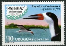 Uruguay 1997 MiNr. 2260 Birds Vogel Black Skimmer Exhibition PACIFIC '97 1v MNH** 6,00 € - Uruguay
