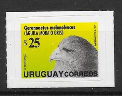 Uruguay 1997 MiNr. 2274 I  Birds Of Prey Vogel Black-chested Buzzard-eagle 1v MNH**   22,00 € - Uruguay