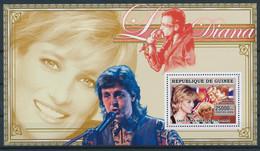 NB - [401757]TB//**/Mnh-Guinée 2006 - Lady Diana, Ronald Reagan, Chanteurs & Musiciens - Sänger