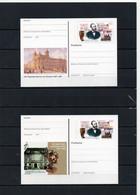 BRD, 1997/1999, 2 Ganzsachen-Karten Mit Michel 1912, Postfrisch/**/MNH, TT H. V. Stephan/125 Jahre Weltpostverein - Postales Ilustrados - Nuevos