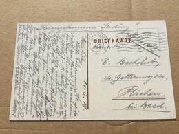30341 Niederlande 1918 AK Als Kriegsgefangenenkarte Von Rotterdam Nach Riehen Bei Basel - Covers & Documents
