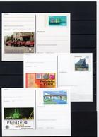 BRD, 1994/2000/01, 3 Ganzsachen-Karten Mit Michel 1732/2109/2178, Postfrisch/**/MNH, Br.-Messen Essen/Leipzig/Köln - Postales Ilustrados - Nuevos