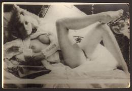 Nude Woman Girl Old Photo 15x10 Cm #32275 - Pin-ups