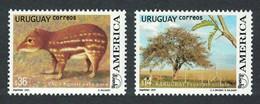 Uruguay 2003 MiNr. 2769 - 2770 AMERICA UPAEP Animals  Plants Flowering Tree 2v MNH**  7,50 € - Uruguay