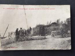 """CHATELAILLON- Le """"François Coppée"""" Des Sables, Jeté Le 12 Mai 1910 Sur Le Fort Saint-Jean - Châtelaillon-Plage"""