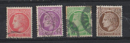 France 1945-1947  YT /   676-679-680-681 - 1945-47 Cérès De Mazelin