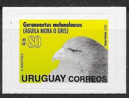 Uruguay 2000 Mi.No. 2578   Birds Of Prey Black-chested Buzzard-eagle  Vogel 1v MNH**   28,00 € - Uruguay