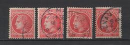 France 1945-1947  YT /   676   Lot De 4 Timbres - 1945-47 Cérès De Mazelin