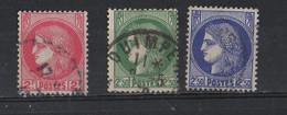France 1938-1941 YT /    372-375-375A - 1945-47 Cérès De Mazelin