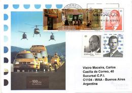 SPAIN / ESPAÑA 2006 - Entire Envelope Of 0,57 EUR King Juan Carlos, Circulated To Buenos Aires - 1931-....
