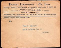 Argentina - Circa 1930 - Lettre - Cachet Spécial - Enveloppe Thématique - Peluffi Loustaunau Y Cia Ltda - A1RR2 - Briefe U. Dokumente