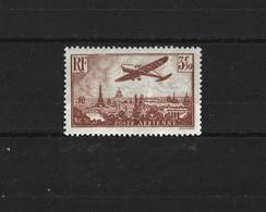 FRANCE 1936 - YT PA N°13  NEUF AVEC CHARNIERE * - 1927-1959 Ungebraucht