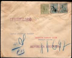 Uruguay - 1927 - Lettre - Envoyé En Argentina - A1RR2 - Uruguay