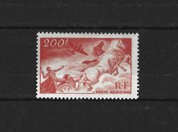 FRANCE 1946-47 - YT PA N°19  NEUF AVEC CHARNIERE * - 1927-1959 Ungebraucht