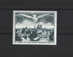 FRANCE 1947 - YT PA N°20 NEUF AVEC CHARNIERE * - 1927-1959 Ungebraucht