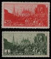 Russia / Sowjetunion 1947 - Mi-Nr. 1117-1118 ** - MNH - Tag Der Arbeit - Unused Stamps