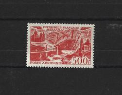 FRANCE 1949 - YT PA N°27 NEUF AVEC CHARNIERE * - 1927-1959 Postfris