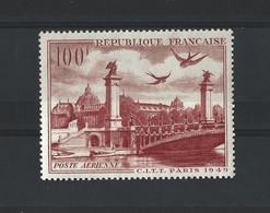 FRANCE 1949 - YT PA N°28 NEUF AVEC CHARNIERE * - 1927-1959 Ungebraucht