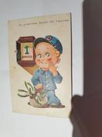 CPA 1 Janvier La Première Levée De L'année  1942 TBE - Poste & Postini