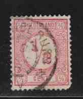 PAYS-BAS  (Y&T) 1876/94 - N°25    *     *    1/2c.   Obli () - Used Stamps