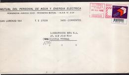 Argentina - 1989 - Lettre - Courrier Privé OCA - Circulé - Envoyé En Buenos Aires - Mutual De Personal Del Agua - A1RR2 - Lettres & Documents