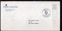 Argentina - 1996 - Lettre -Correo Argentino - Cachet Spécial - Charles Lindbergh - Aerofila '96 - A1RR2 - Cartas