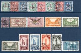 Colonies Françaises Maroc 1902/1955  63 Timbres Différents   3 €   (cote 32,50 €  63 Valeurs) - Used Stamps