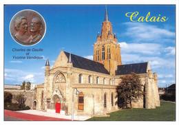 CALAIS L Eglise Notre Dame De Style Tudor 9(scan Recto-verso) MA1356 - Calais