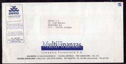 Argentina - Circa 2000 - Courrier Privé Eventel - Circulé - Envoyé En Buenos Aires - Multifinanzas SA - A1RR2 - Cartas