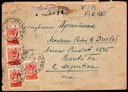 URSS - 1950 - Lettre - Par Avion - Envoyé En Argentina - A1RR2 - Briefe U. Dokumente