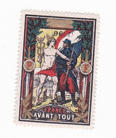 Vignette Militaire Delandre - 96ème Régiment Territorial D'infanterie - Military Heritage