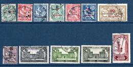 Colonies Françaises Maroc 1902/1955  48 Timbres Différents   2,50 €   (cote 29,70 €  48 Valeurs) - Used Stamps