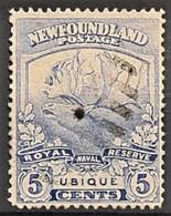 NEWFOUNDLAND 1919 - Canceled - Sc# 119 - 5c - 1908-1947