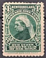 NEWFOUNDLAND 1897 - Canceled - Sc# 61 - 1c - 1865-1902