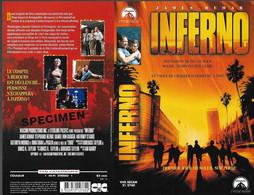 """INFERNO"" -jaquette SPECIMEN Originale CIC VIDEO - - Action, Adventure"