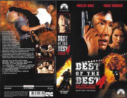"""""""BEST OF THE BEST 4"""" -jaquette SPECIMEN Originale CIC VIDEO -le Feu Aux Poudres -without Warning - Action, Adventure"""